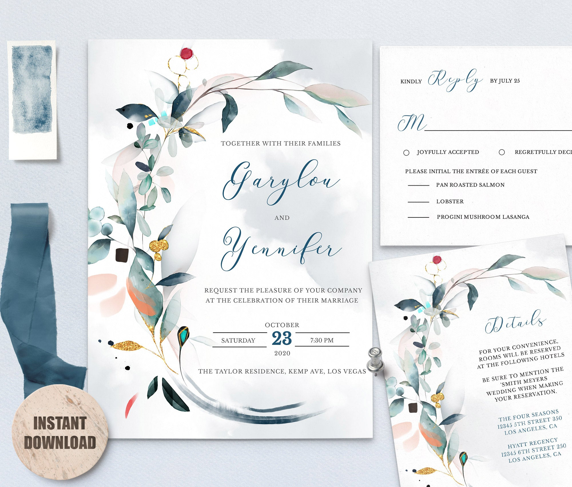 SPMR - Wedding Template Bundles set 8 - Greenlanderdesign