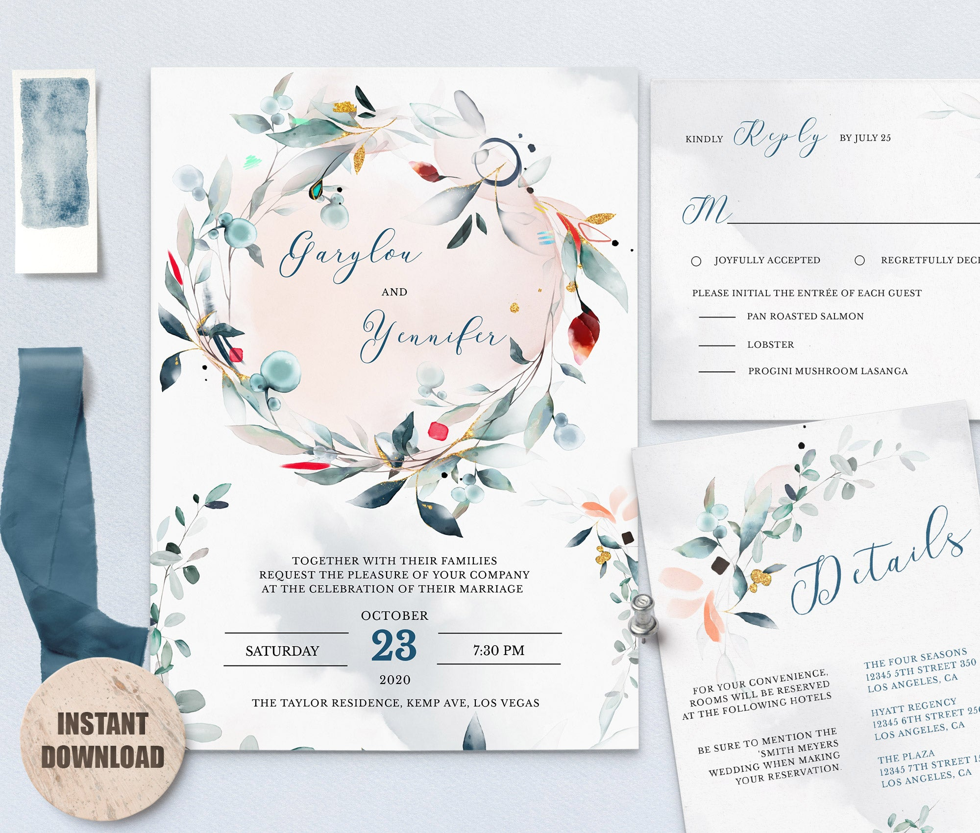 SPMR - Wedding Template Bundles set 2 - Greenlanderdesign