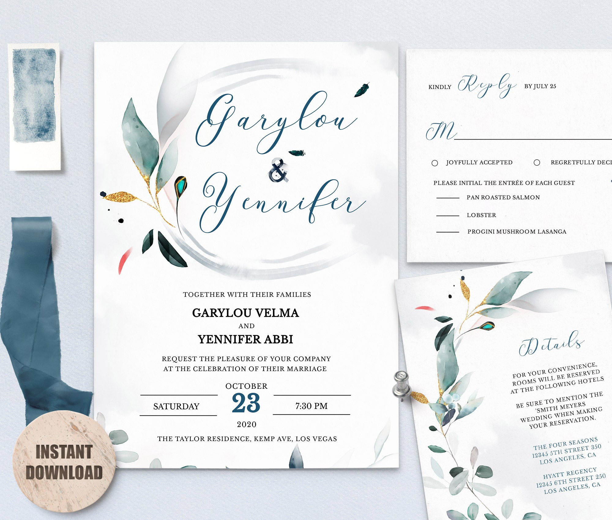 SPMR - Wedding Template Bundles set 5 - Greenlanderdesign