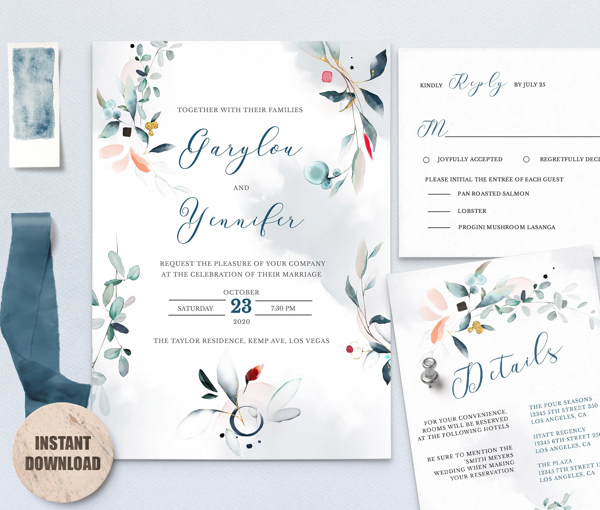 SPMR - Wedding Template Bundles set 10 - Greenlanderdesign