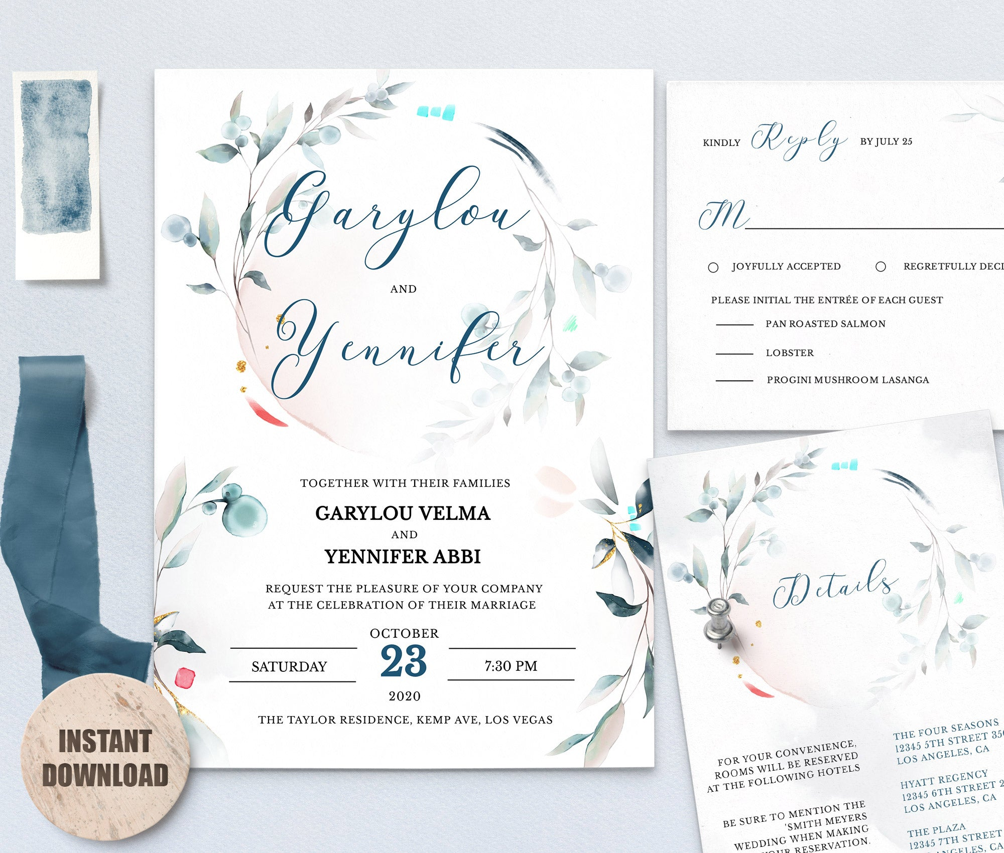 SPMR - Wedding Template Bundles set 6 - Greenlanderdesign