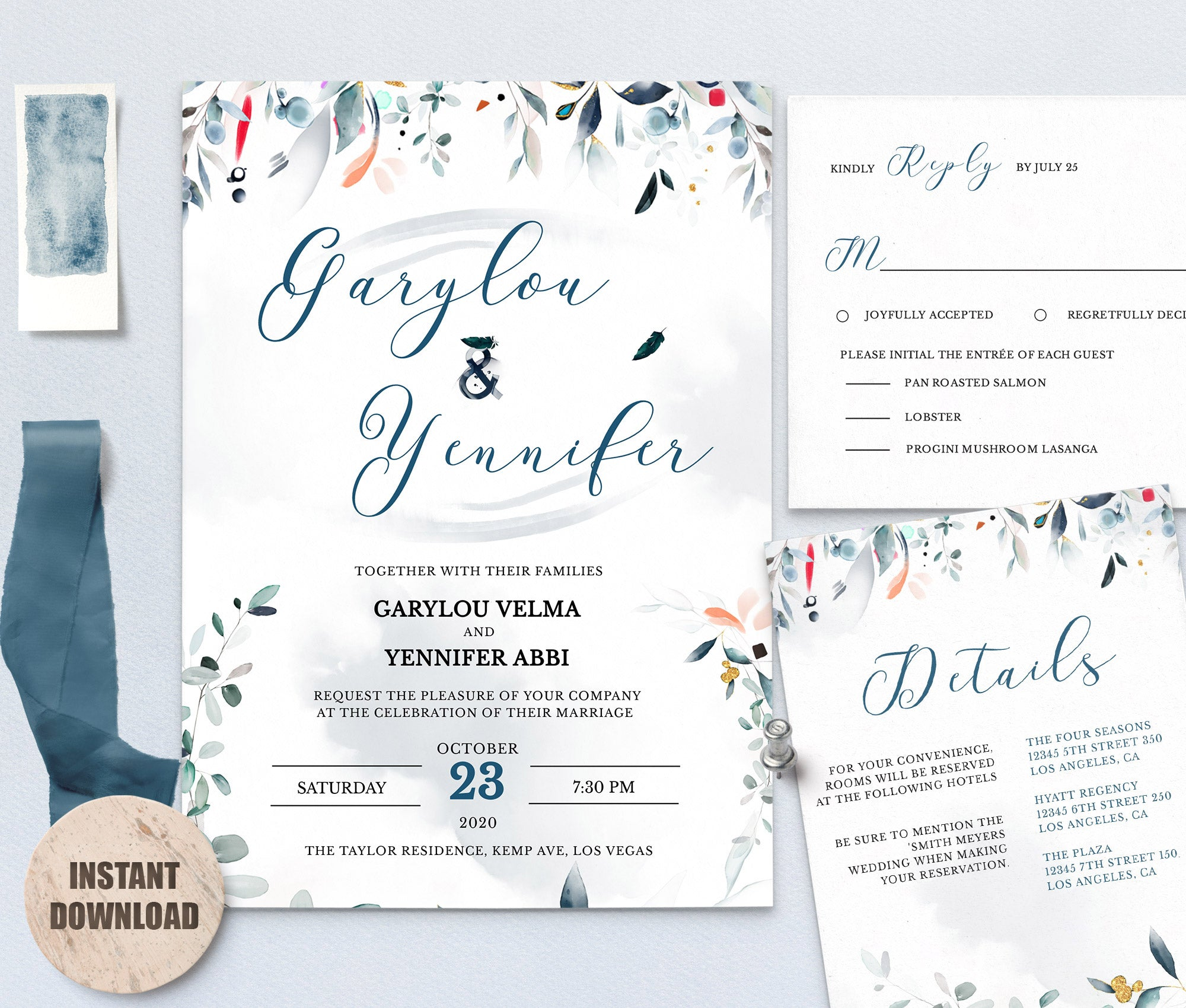 SPMR - Wedding Template Bundles set 4 - Greenlanderdesign