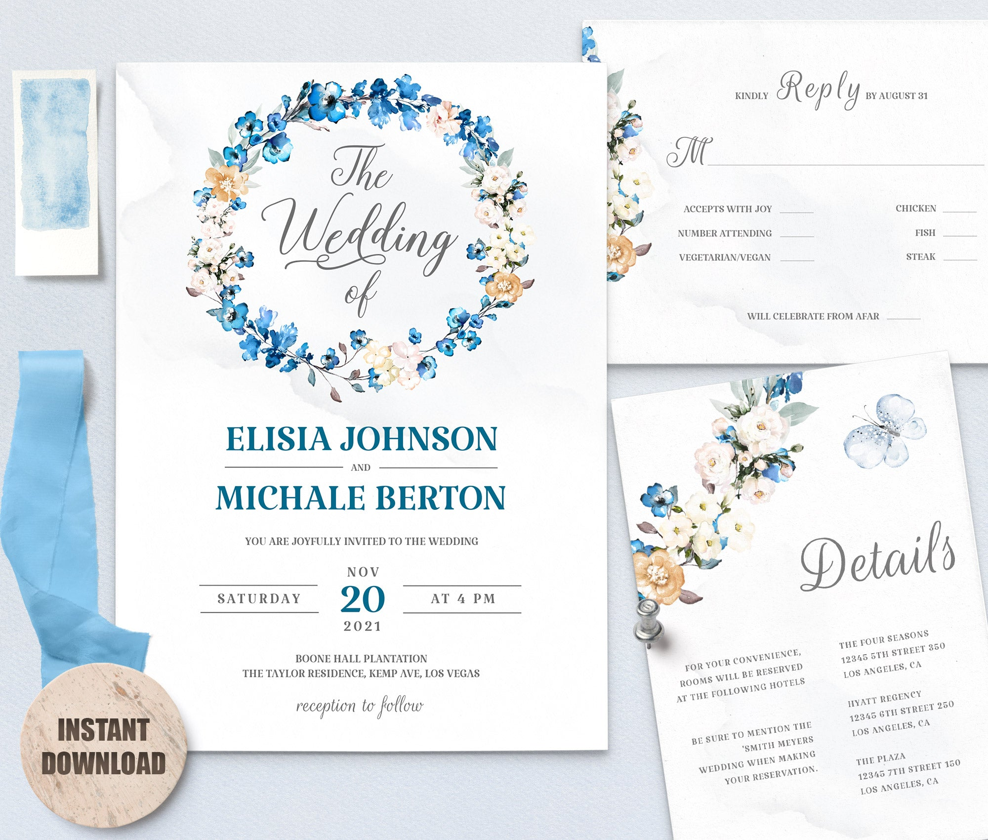 MELLY Wedding Template Bundles 3