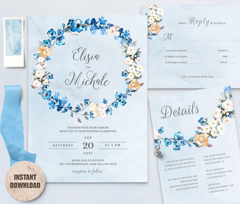 MELLY Wedding Template Bundles 2