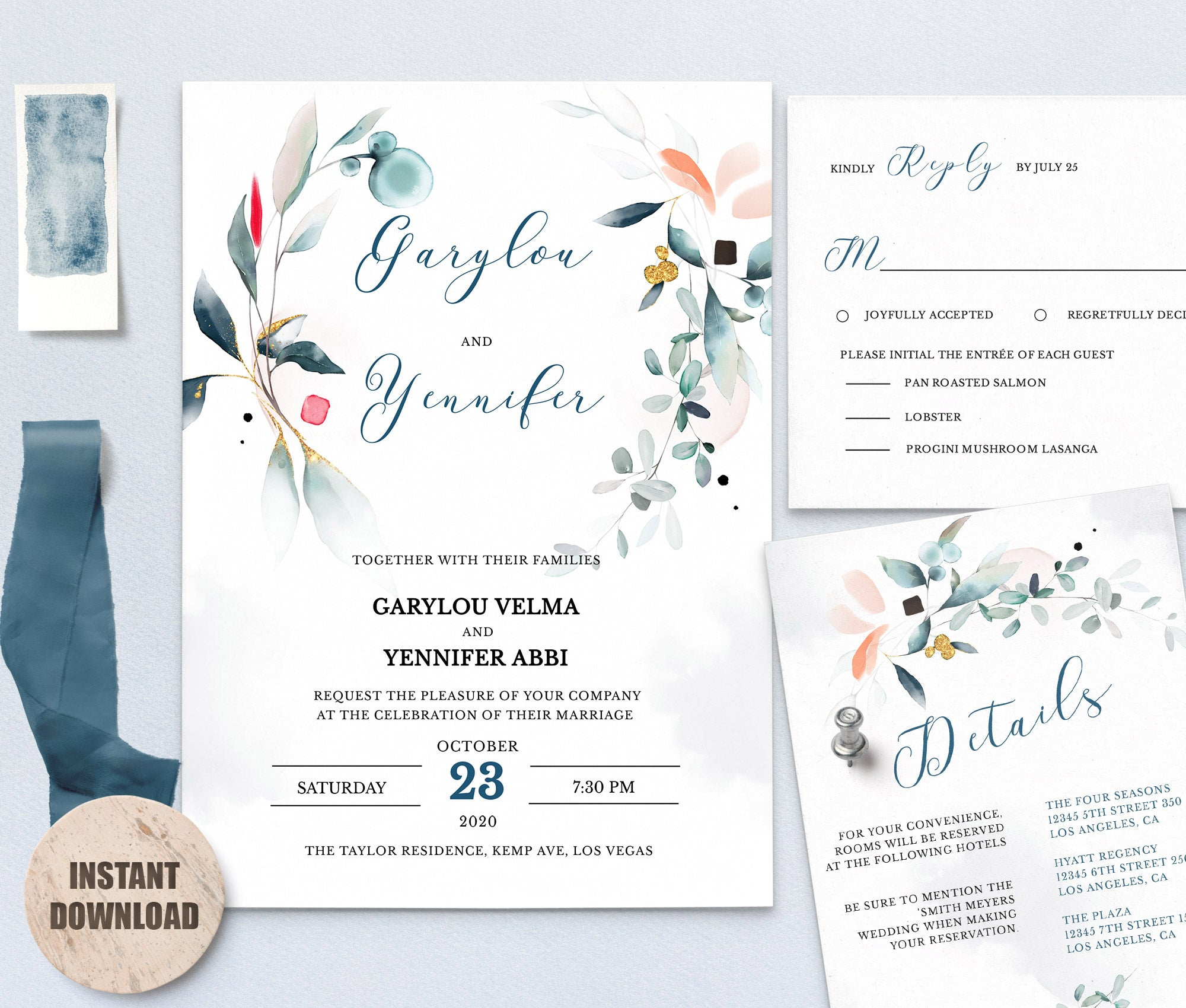 SPMR - Wedding Template Bundles set 7 - Greenlanderdesign
