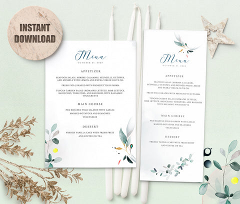 SPMR - Menu set 9 - Greenlanderdesign