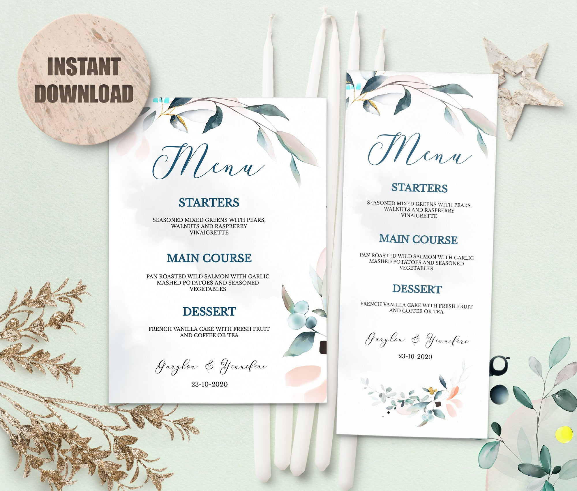 SPMR - Menu set 10 - Greenlanderdesign