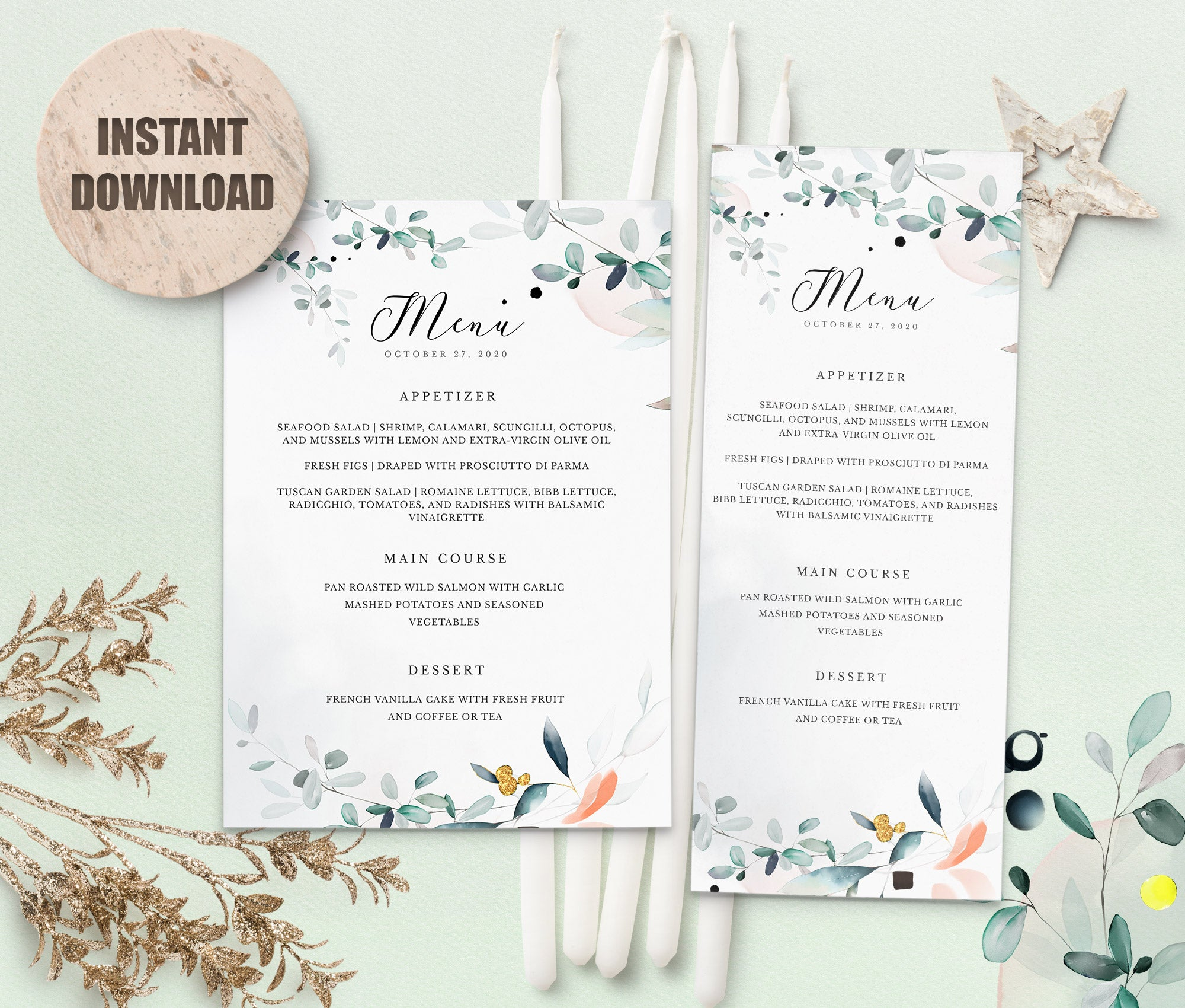 SPMR - Menu set 2 - Greenlanderdesign