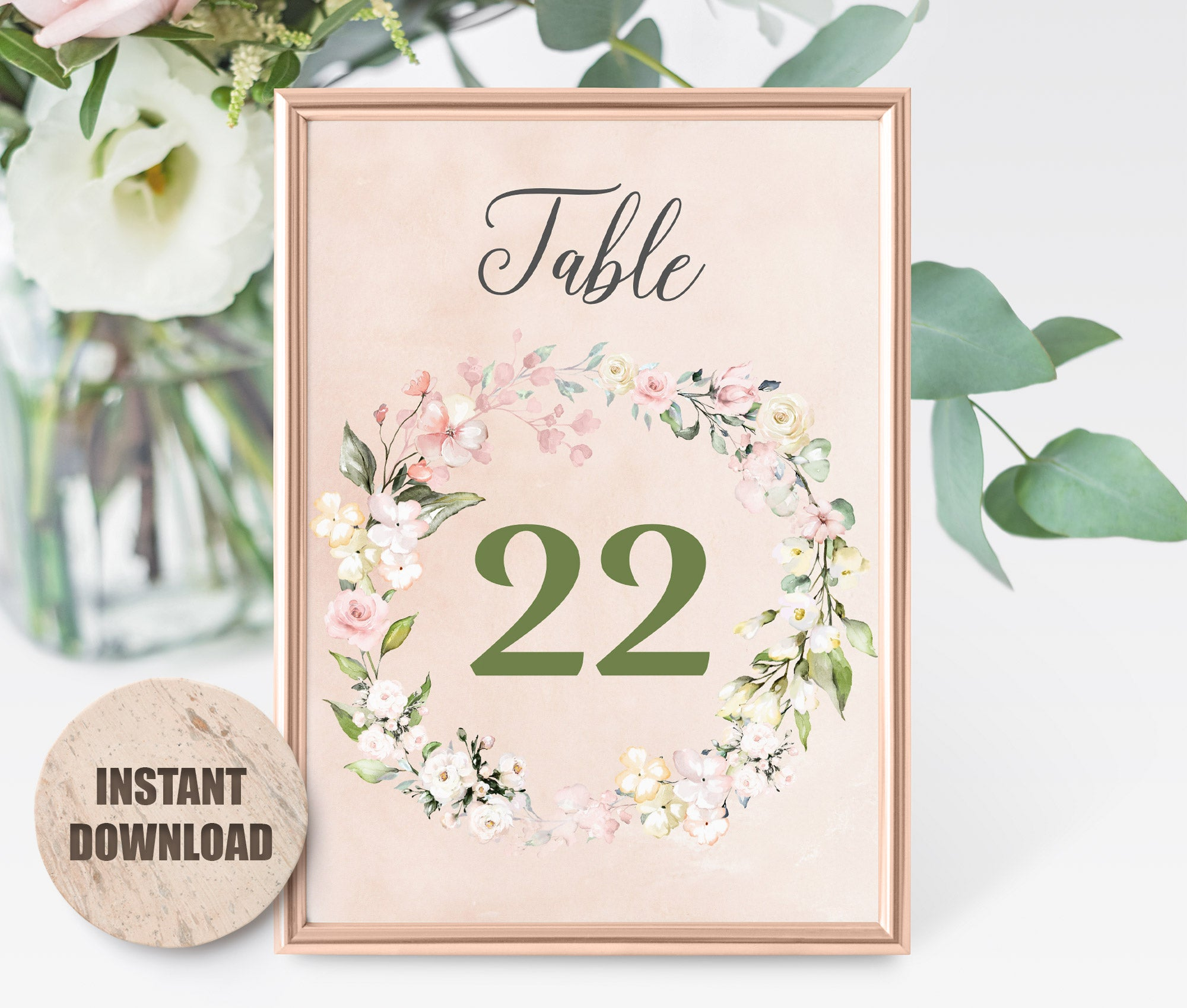 LOVAL Table card set 5