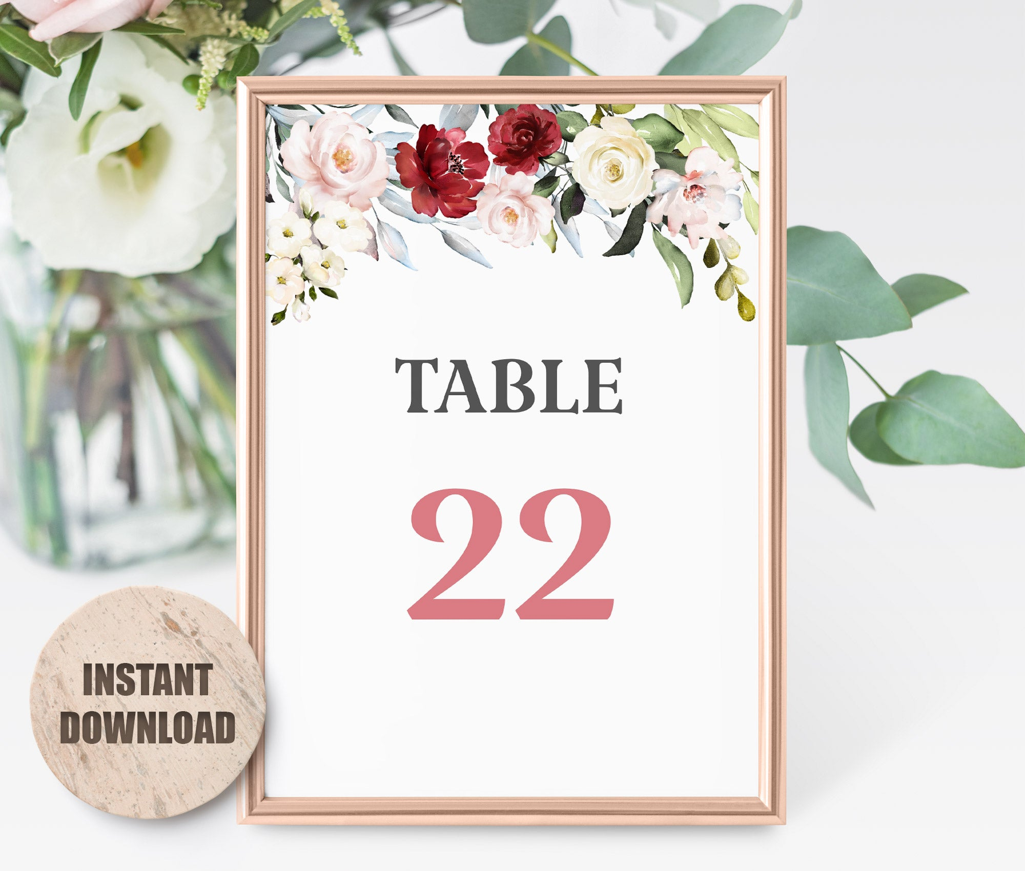 LOVAL Table card set 2