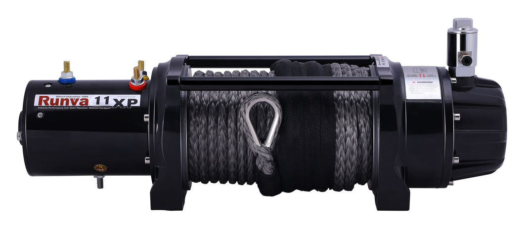 Runva 11XP PREMIUM 24V with Synthetic Rope - full IP67 protection