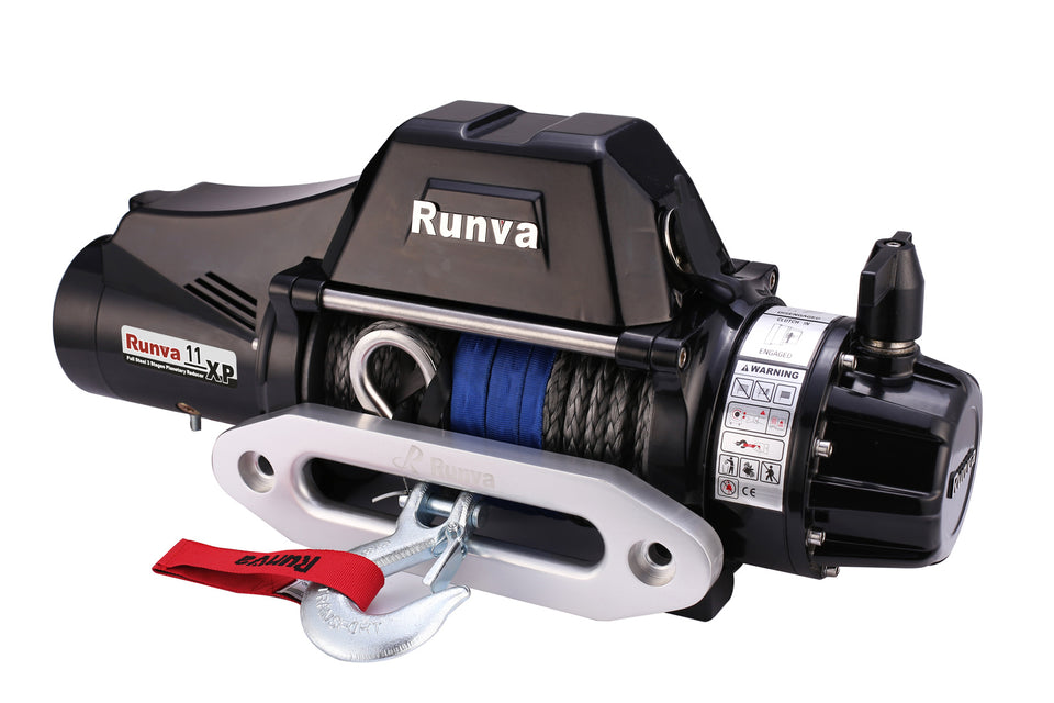 Runva 11XP TF PREMIUM 12V with Synthetic Rope - full IP67 protection