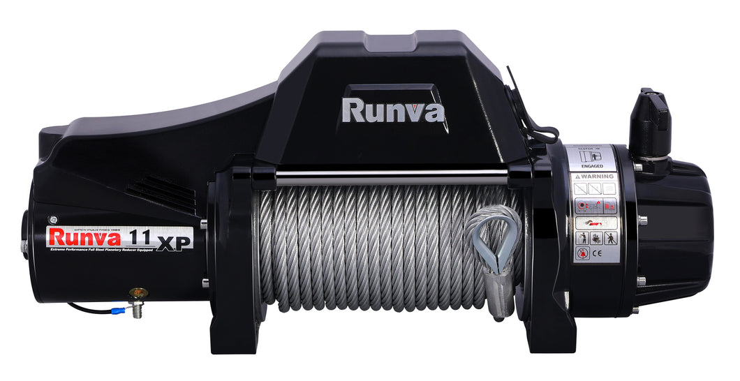 Runva 11XP Premium TF 12V with Steel Cable