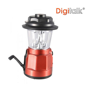 Portable Dynamo LED Lantern Radio with Built-In Compass