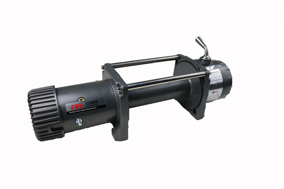 Runva EWX12000 12V BARE Winch - IP67 Motor