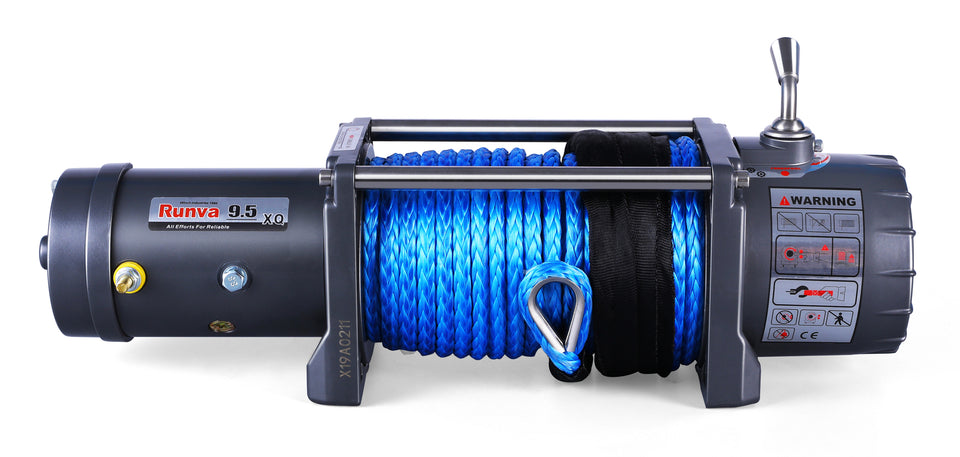 Runva EWX9500-Q 24V with Synthetic Rope