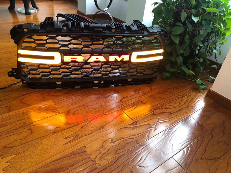 Dodge RAM Led Emblem Front Grille letters 2013-2019 4th Gen