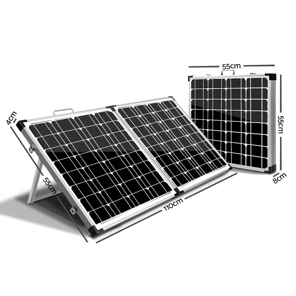 Solraiser 160W Folding Solar Panel Kit Regulator