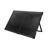 Solraiser 300W Folding Solar Panel Kit Regulator Black