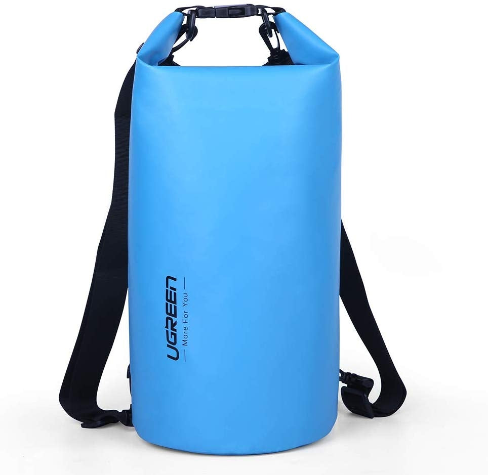 UGREEN Floating Waterproof Dry Bag for Cycling/Biking/Swimming/Rafting/Water Sport - Blue