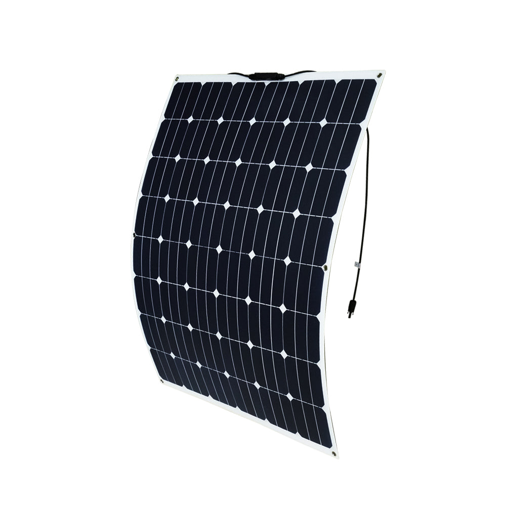 200W 12V Flexible Solar Panel Generator Caravan Camping Power Mono Charging Kit