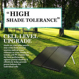 Folding Solar Panel Kit 18V 300W Mono Caravan Boat Camping charging ATEM POWER