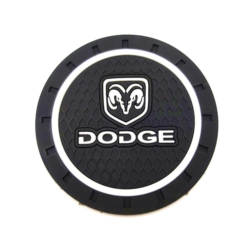 1pcs Car-Styling PVC Car non-slip coaster Mat For Dodge RAM 1500