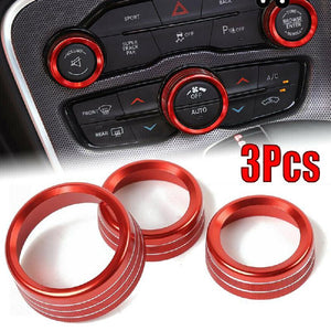 Dodge Ram 1500 Coloured  AC - Volume - Tune Rings