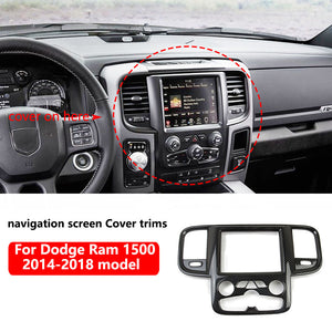 Carbon Fibre Central Navigation Screen  fits 2014-2018 Dodge RAM 1500 2500