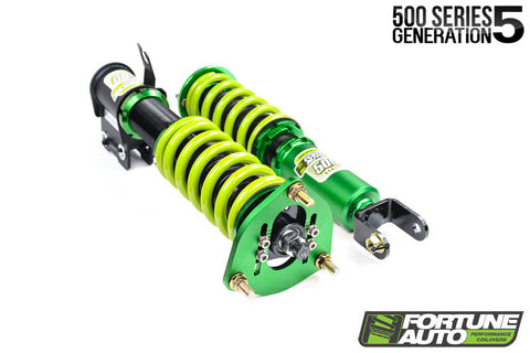 Fortune Auto 500 Series Generation 5 Coilovers for Nissan R35 GTR