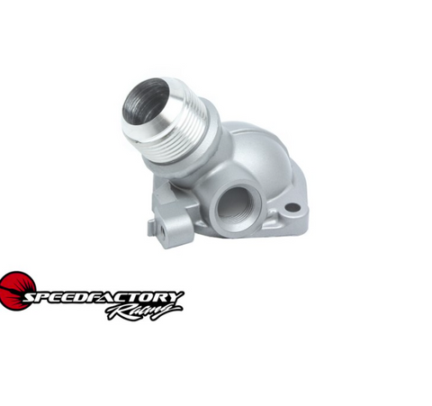 SpeedFactory Racing -16an Thermostat Housing for Honda/Acura B-Series Engines