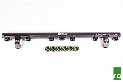 Radium Top Feed Fuel Rail for Toyota Supra 2JZ-GTE