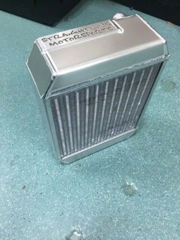 Straightline motorsports Drag Radiator with Fan and shroud combo b18/b20/k20 SFWD 14'/10/3.0'