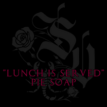 Load image into Gallery viewer, 'Lunch Is Served' Pie Soap