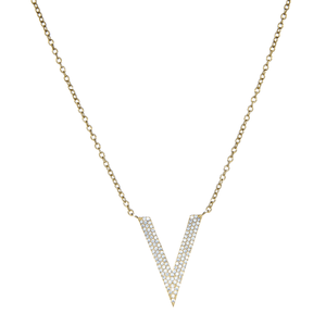 14ct Gold Cubic Zirconia Jewellery Chain