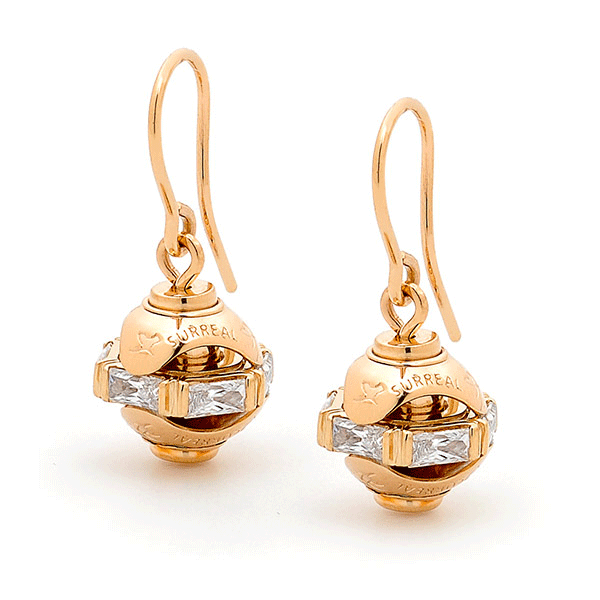 9ct Gold Paris By Surreal - Earrings