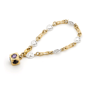 9ct Gold Surreal Trademark Infinity Bracelet