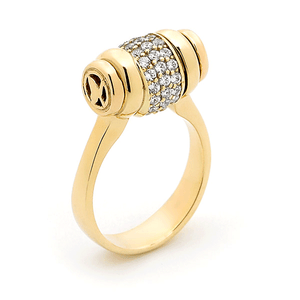 9ct Gold Surreal Trademark Ring