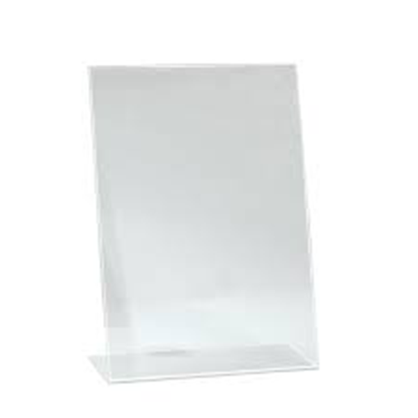 A4 Acrylic Counter-Card Frame