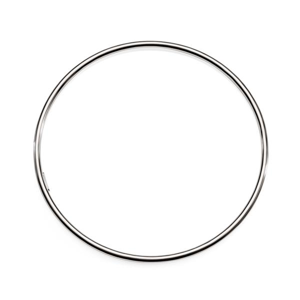 Sterling Silver 65mm 2mm Polished Bangle