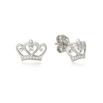 Disney Precious Metal Princess Stud Earrings