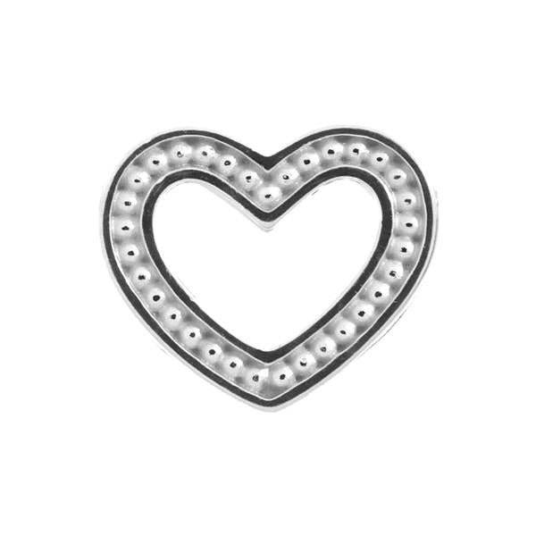 Endless Frosty Heart Silver Charm