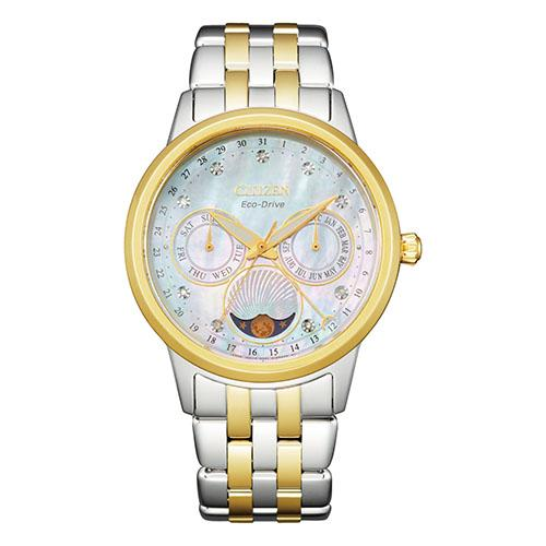 Citizen Women's Eco-Drive Diamond Moonphase Watch FD0004-51D