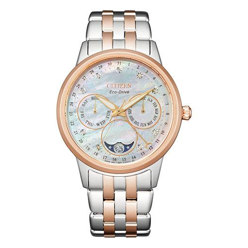 Citizen Women's Eco-Drive Diamond Moonphase Watch FD0006-56D