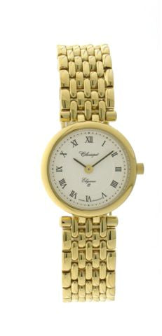 LADIES GP ST/STEEL SWISS QUARTZ BRACELET