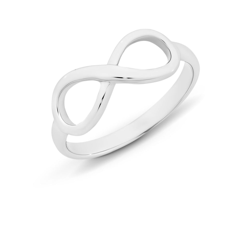 Sterling Silver 'Infinity' Ring