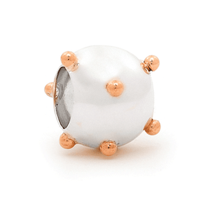 SURREAL 9ct Gold 10mm Ball Bomb Bead