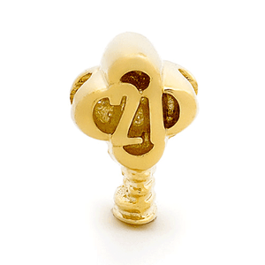 SURREAL 9ct Gold 21 Years Key Bead