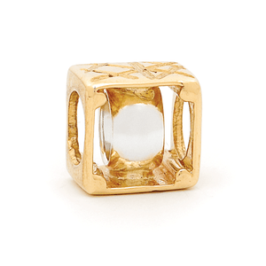 SURREAL 9ct Gold Boxed Belcher Bead