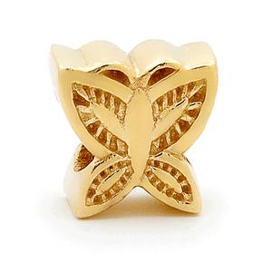 SURREAL 9ct Gold Butterfly Bead